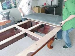 installation and moving of pool table how much does it cost